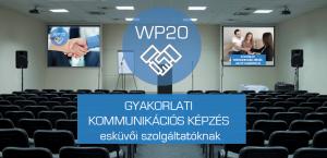 WP20 kommunikációs képzés esküvői szolgáltatóknak